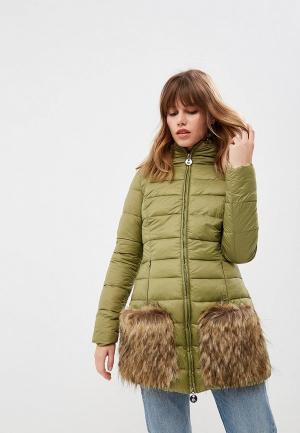 Куртка утепленная Met. Цвет: зеленый