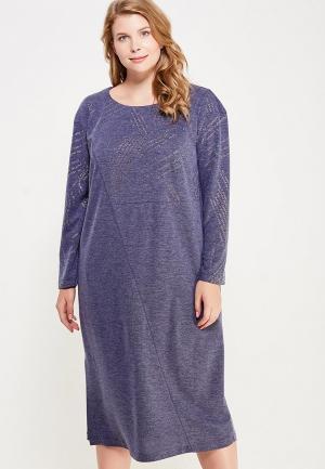 Платье Intikoma. Цвет: синий