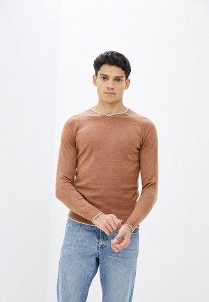 Пуловер Bakers Baker's. Цвет: коричневый