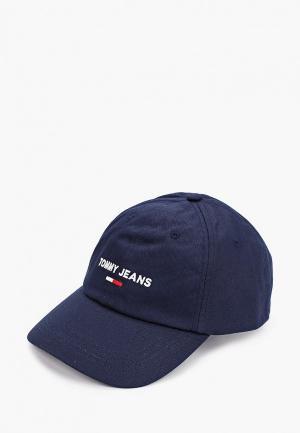 Бейсболка Tommy Jeans. Цвет: синий