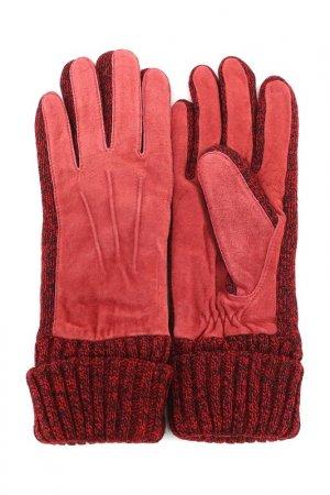 Перчатки MODO. Цвет: красный