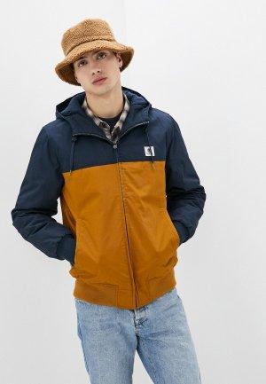 Куртка утепленная Element. Цвет: коричневый