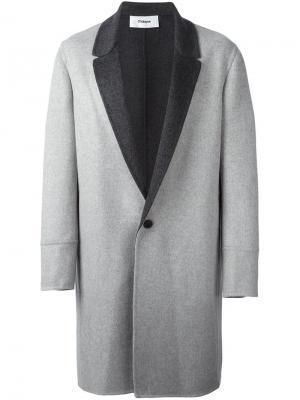 Пальто Low-Break Chalayan. Цвет: серый