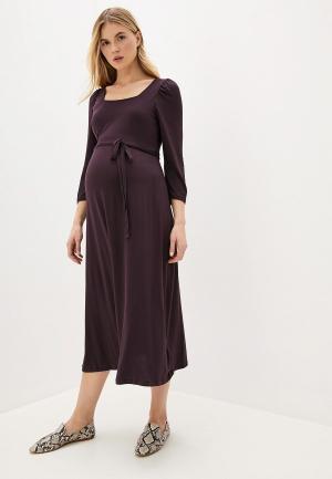 Платье Dorothy Perkins Maternity. Цвет: фиолетовый