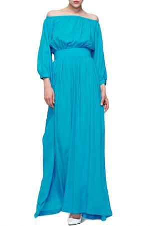 Платье Alex Mazurin. Цвет: бирюзовый