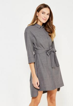 Платье Ecapsule. Цвет: серый
