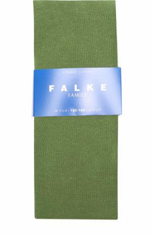 Трикотажные колготы Falke. Цвет: зеленый
