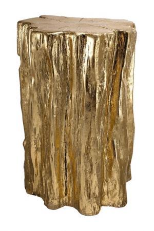 Табурет 34x33x51 см ГЛАСАР. Цвет: золотой