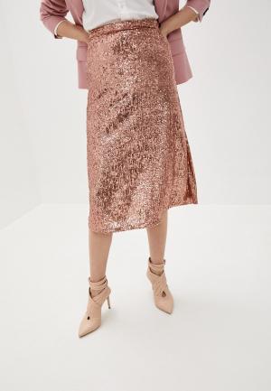 Юбка LAutre Chose L'Autre. Цвет: розовый