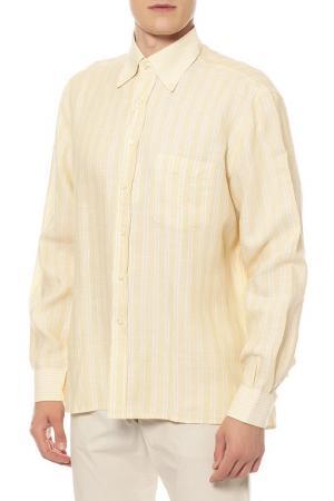 Сорочка GRAN SASSO. Цвет: желтый
