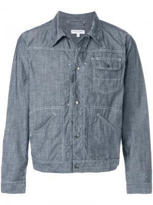 Куртка с накладными карманами Engineered Garments. Цвет: синий