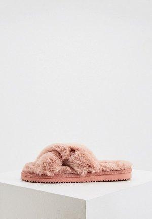 Тапочки Michael Kors. Цвет: розовый