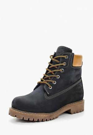 Ботинки Excavator. Цвет: синий
