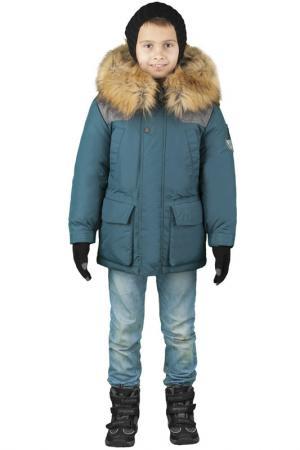 Куртка BOOM. Цвет: зеленый