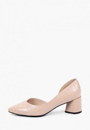 Туфли Covani. Цвет: розовый