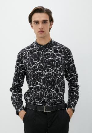 Рубашка Alessandro DellAcqua Dell'Acqua. Цвет: черный