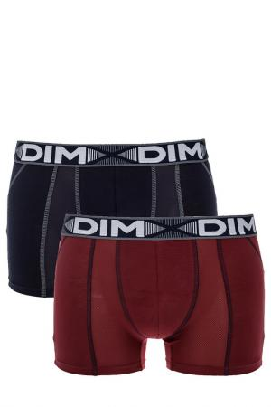 Комплект трусов DIM. Цвет: красный