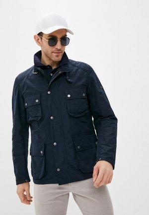 Куртка Barbour. Цвет: синий