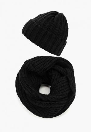 Комплект Fete. Цвет: черный