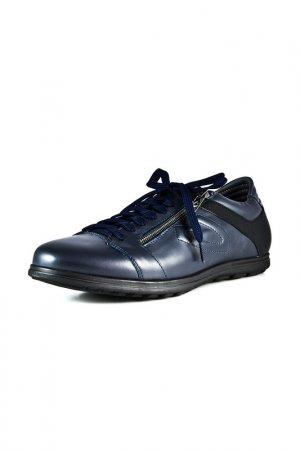 Кроссовки ALBERTO GUARDIANI. Цвет: синий