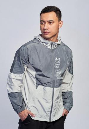 Ветровка Li-Ning. Цвет: серый