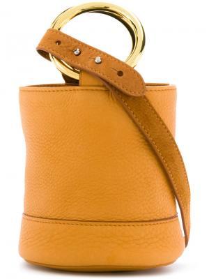 Небольшая сумка Simon Miller. Цвет: жёлтый и оранжевый