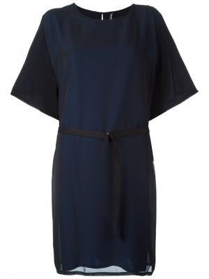 Платье Ebone Minimarket. Цвет: чёрный