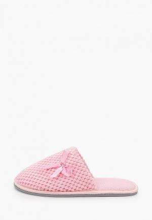 Тапочки Юничел. Цвет: розовый