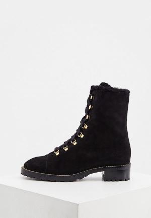 Ботинки Stuart Weitzman. Цвет: черный