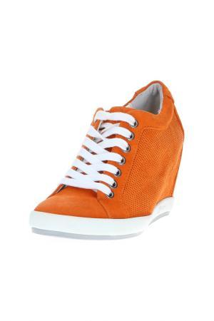Кеды LOGAN. Цвет: оранжевый