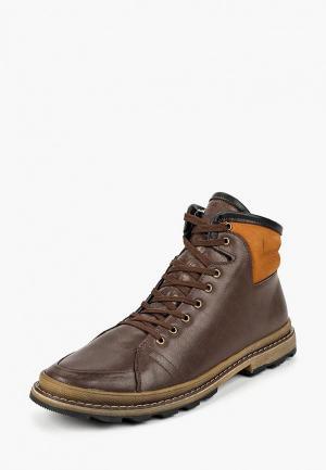 Ботинки iD! Collection. Цвет: коричневый