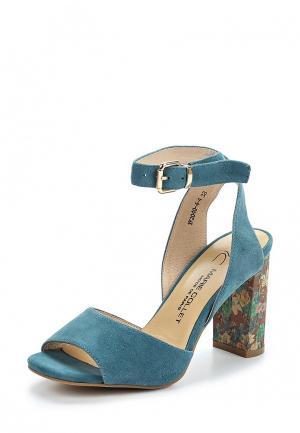 Босоножки Marie Collet. Цвет: синий