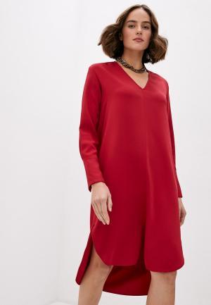 Платье Dondup. Цвет: красный