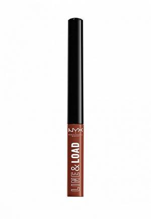 Помада Nyx Professional Makeup. Цвет: коричневый