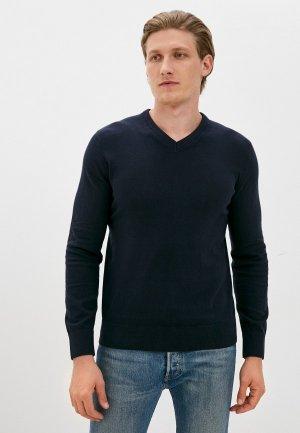 Пуловер Gap. Цвет: синий