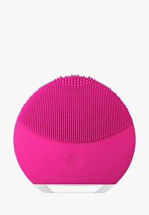 Прибор для очищения лица Foreo. Цвет: розовый