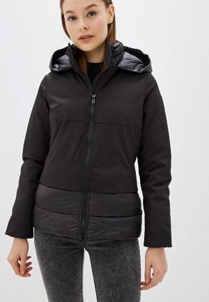 Куртка утепленная Bomboogie. Цвет: черный