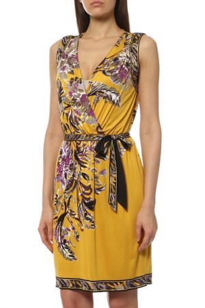 Платье ELIE TAHARI. Цвет: желтый