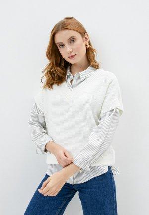 Пуловер Wallis. Цвет: белый