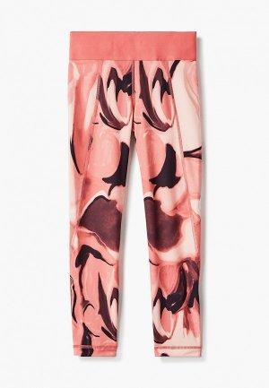 Тайтсы adidas. Цвет: розовый
