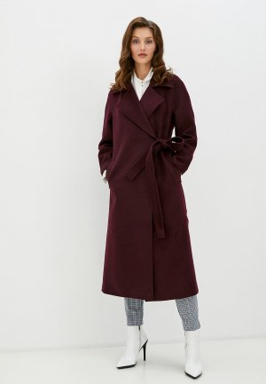 Пальто TrendyAngel. Цвет: бордовый