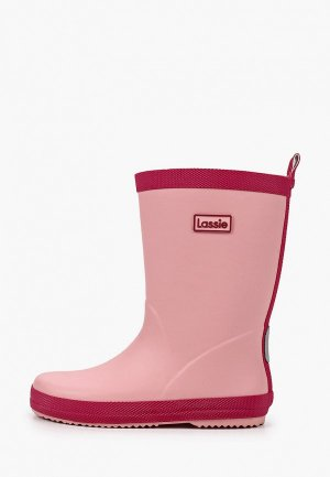 Резиновые сапоги Lassie. Цвет: розовый