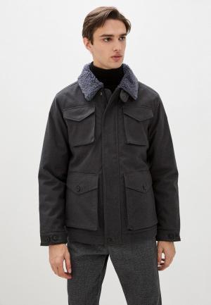 Куртка утепленная Luhta. Цвет: серый