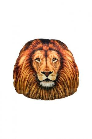Подголовник лев 30х31 GIFTNHOME GIFT'N'HOME. Цвет: оранжевый