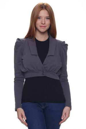Пиджак Minimum. Цвет: серый