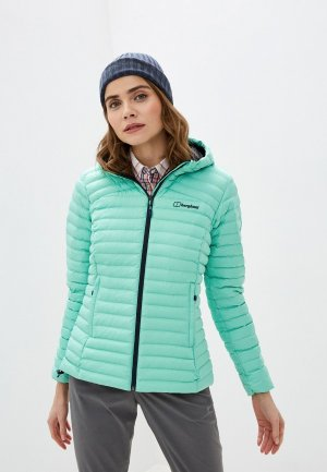 Куртка утепленная Berghaus. Цвет: зеленый
