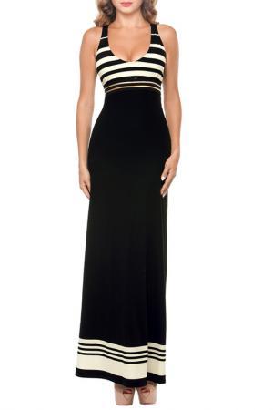 Платье пляжное Lora Grig. Цвет: черный