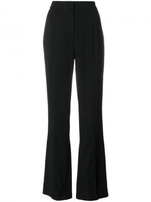 Расклешенные брюки Lala Berlin. Цвет: чёрный