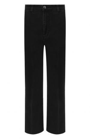Расклешенные джинсы со стрелками Altuzarra. Цвет: серый