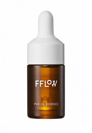Масло для лица Fflow. Цвет: прозрачный